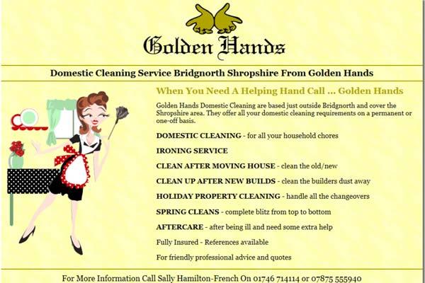 golden hands cleaners