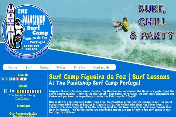 paintshop surf camp