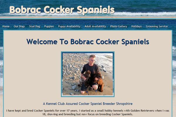 bobrac cocker spaniels