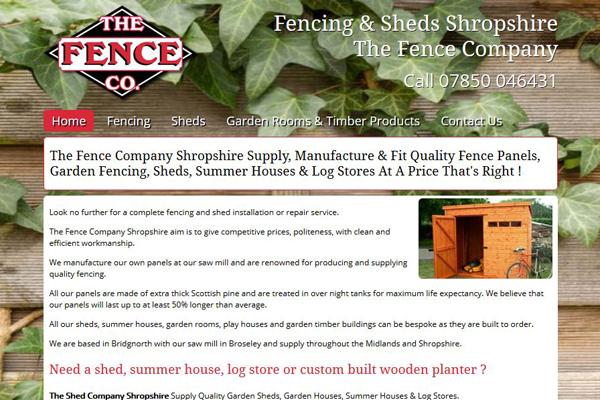the fence company bridgnorth
