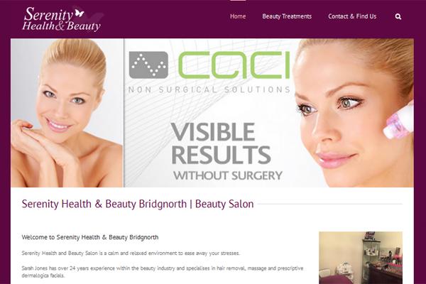 serenity health & beauty bridgnorth