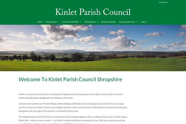 kinlet parish council