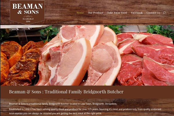 Beaman & Sons Bridgnorth Butchers