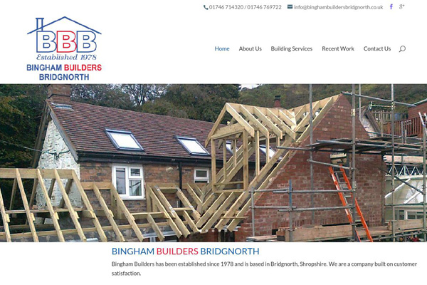 Bingham Builders Bridgnorth