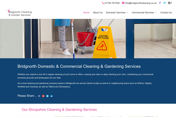 bridgnorth cleaning