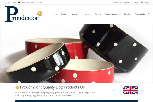 proudmoor quality dog products