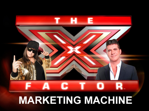 xfactor marketing machine
