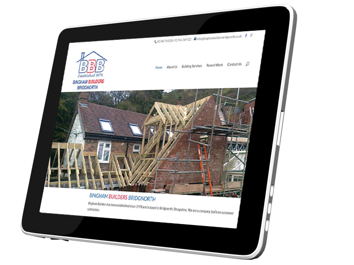 tradesman web design