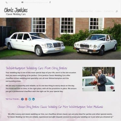 Chris Jenkins Wolverhampton Wedding Cars