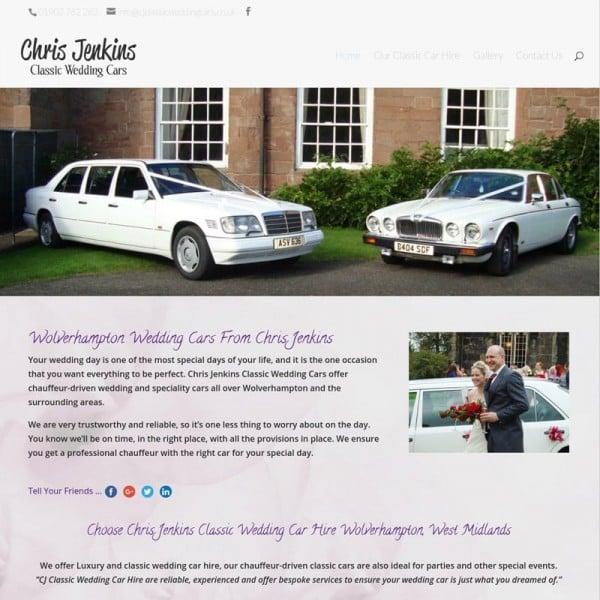 Chris Jenkins Wolverhampton Wedding Cars