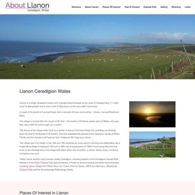 about llanon