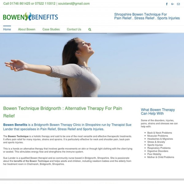 Bowen Benefits
