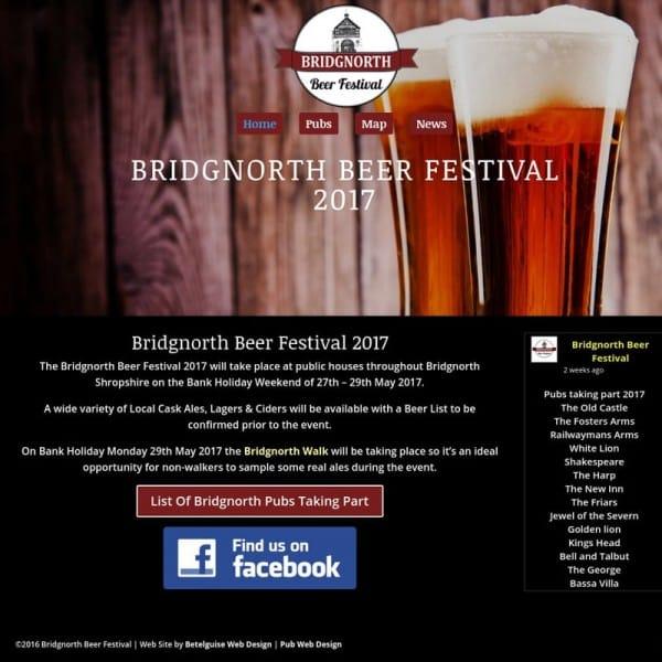 Bridgnorth Beer Festival