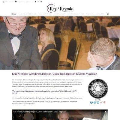 Kris Krendo Close Up Wedding Magician