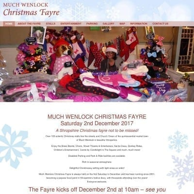 Much Wenlock Christmas Fayre