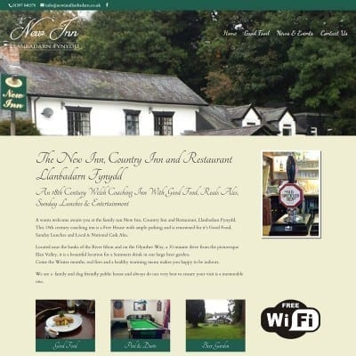 New Inn Llanbadarn Fynydd