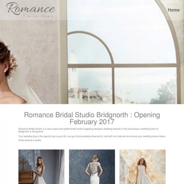 Romance Bridal Studio Bridgnorth