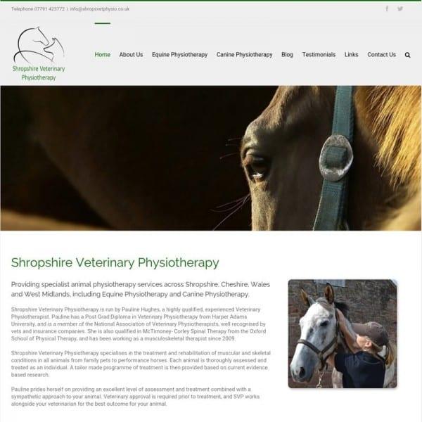 Shropshire Veterinary Physiotherapy