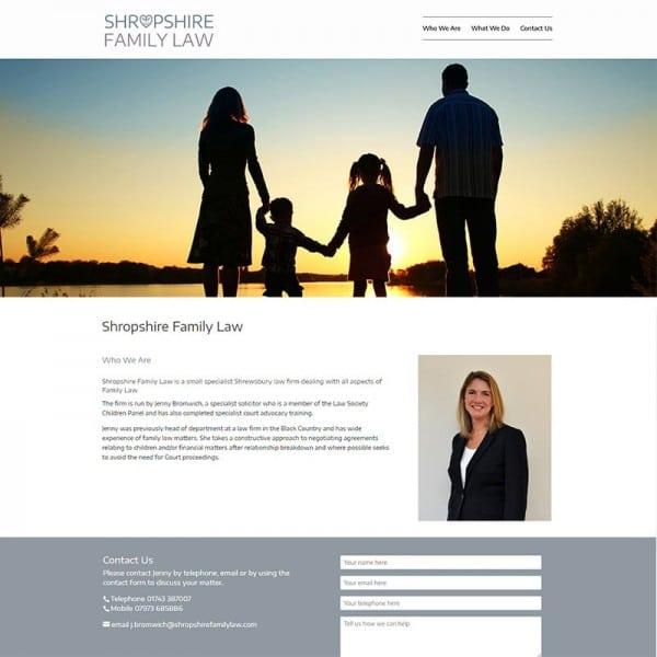 shropshire family law