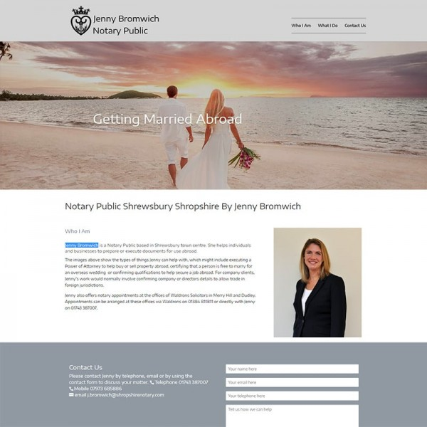 shropshire notary public