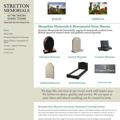 Stretton Memorials