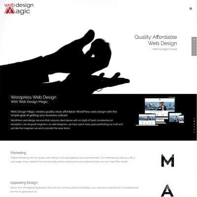 web design magic