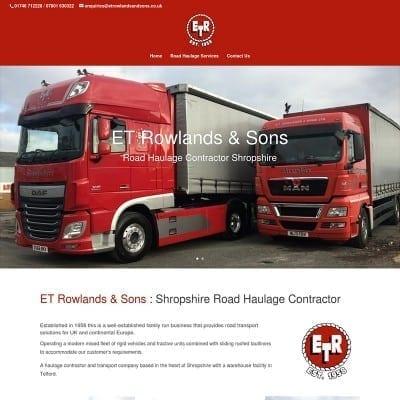ET Rowlands & Sons