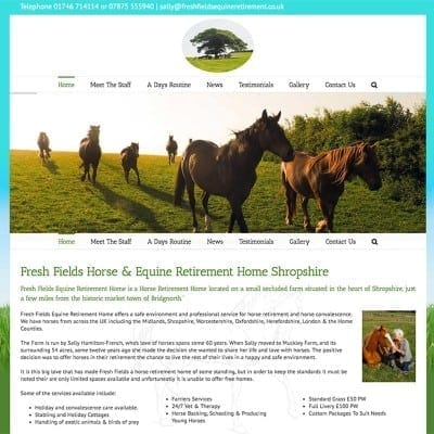 Freshfields Equine Retirement