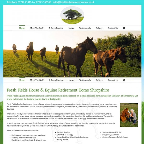 Freshfields Equine Retirement