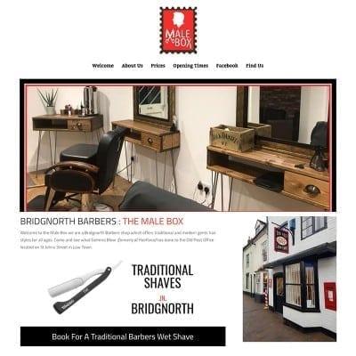 Male Box Barbers Bridgnorth
