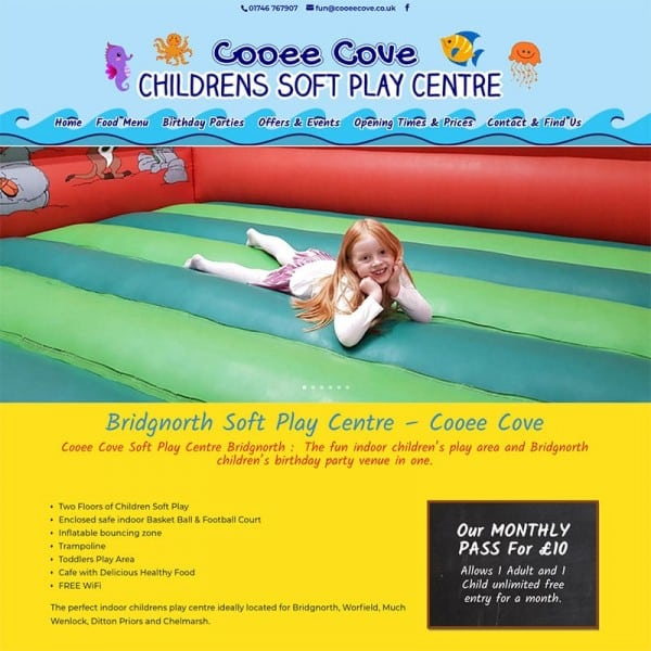 Cooee Cove Soft Play Bridgnorth
