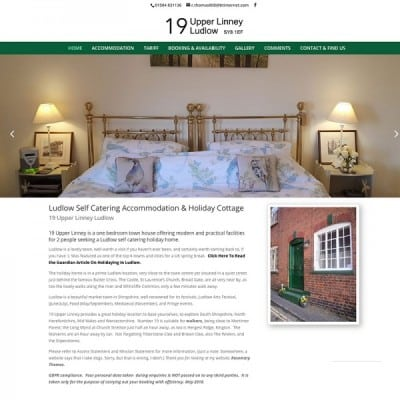 Holiday home ludlow