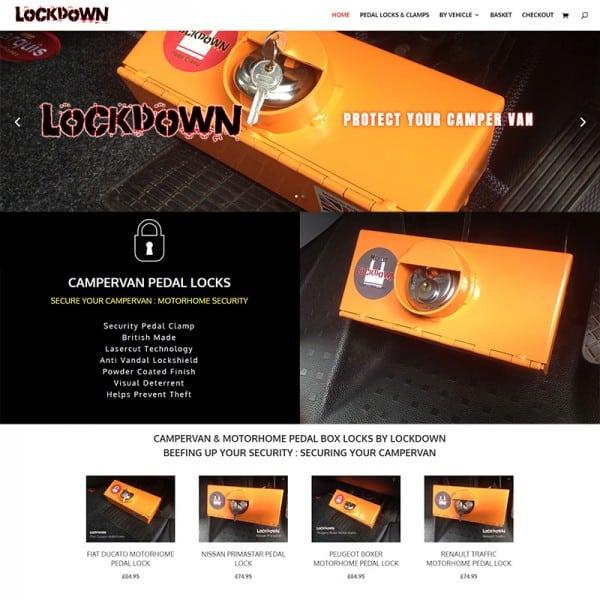 lockdown campervan pedal locks