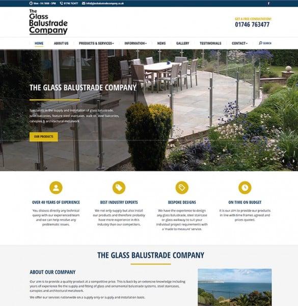 glass balustrade company