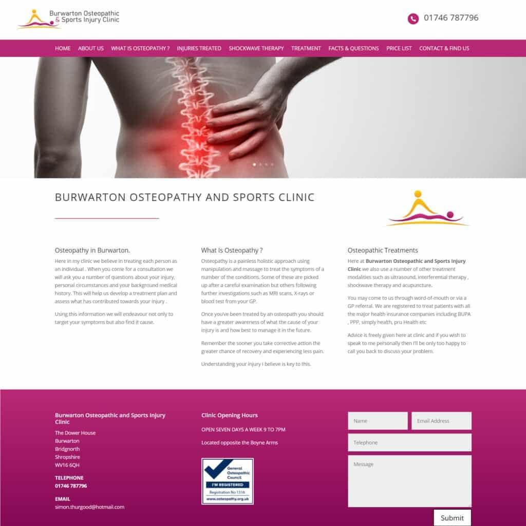 burwarton osteopath