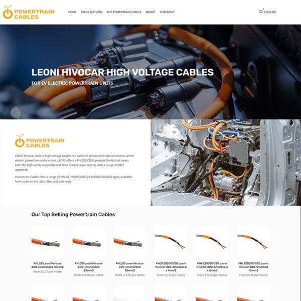 powertrain cables
