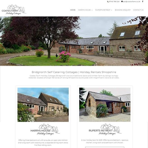 coates farm holiday cottages